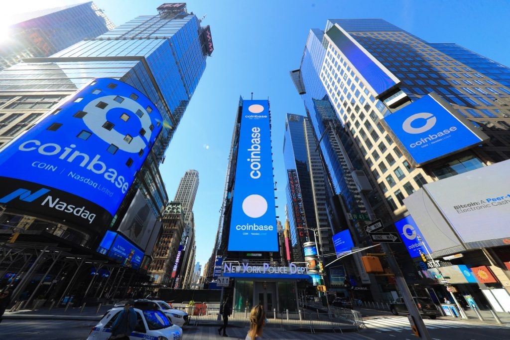 Coinbase New York USA Vereinigten Staaten