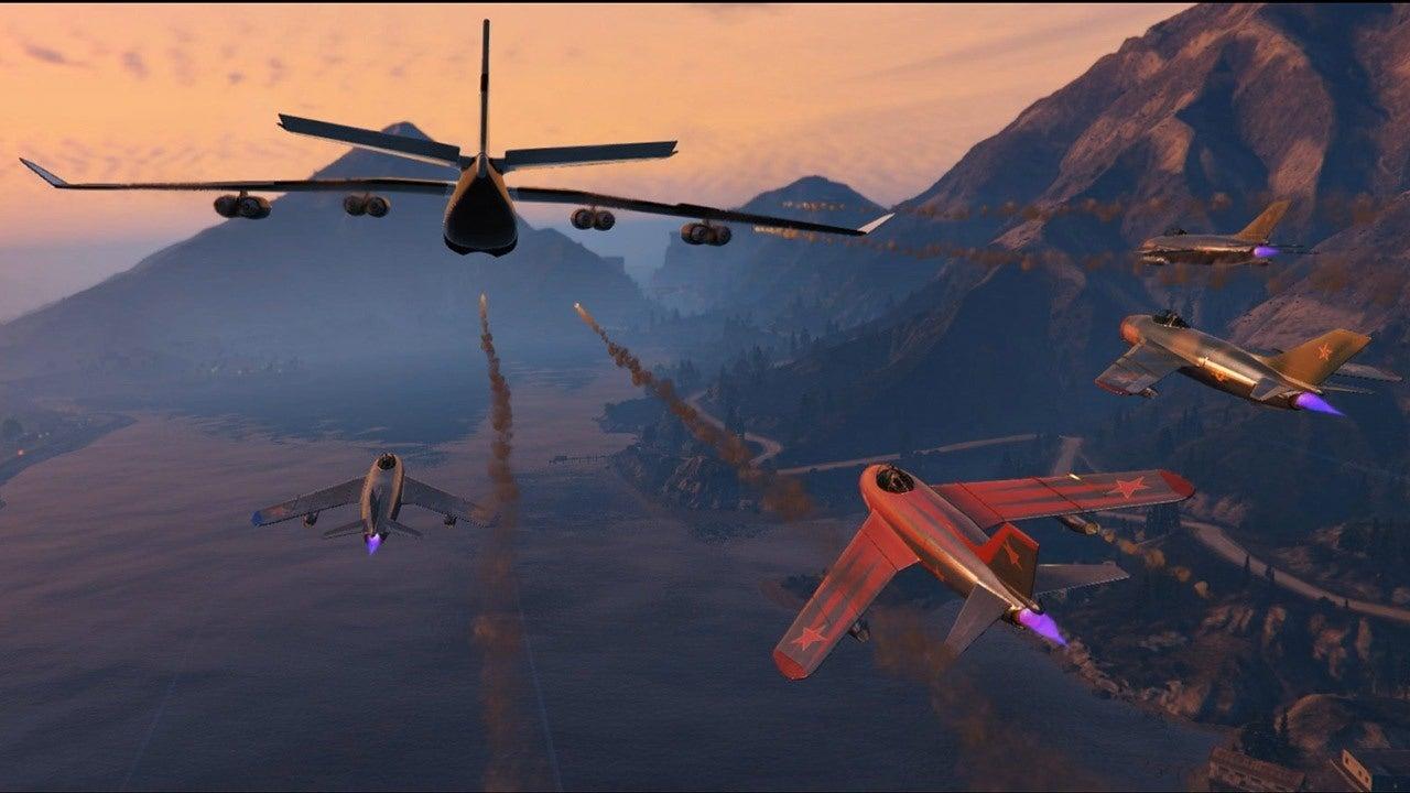 GTA 5 Air Freight Cargo