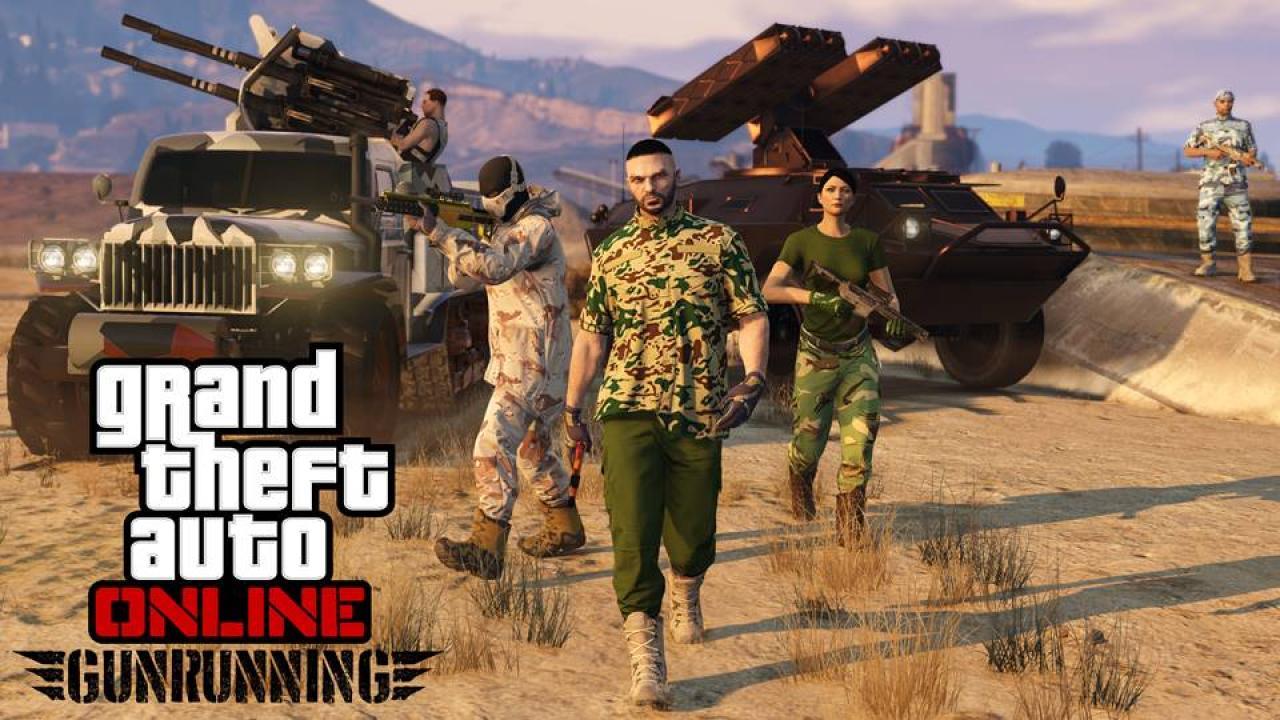 GTA 5 Gunrunning
