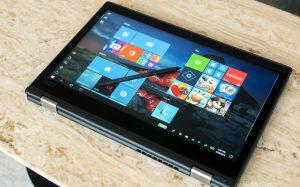 Tablet-Modus für Convertible PCs mit Touchscreen
