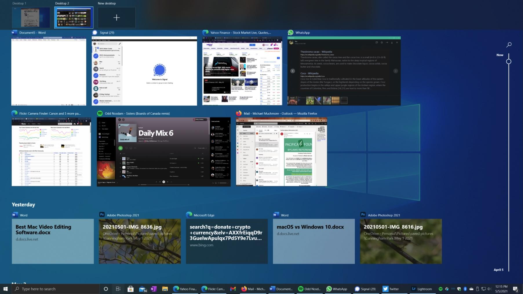 Windows Taskmanager