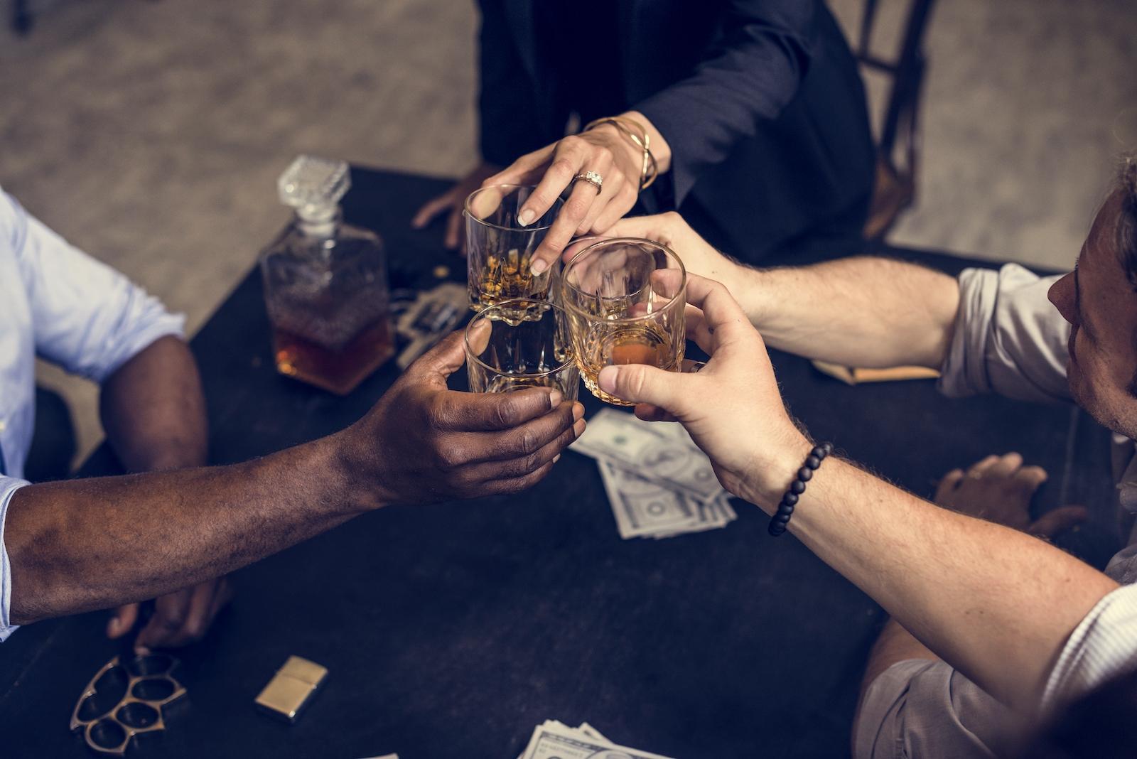 Zu viel Alkohol ist ungesund