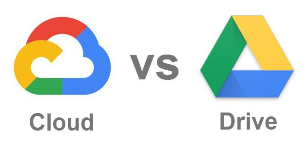 google cloud oder google drive